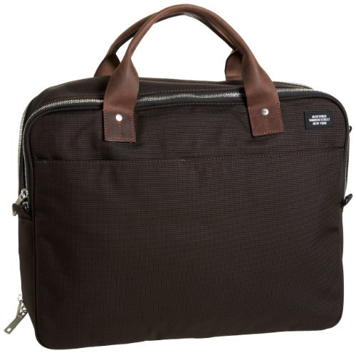 Jack Spade Laptop Briefcase,Chocolate,one size