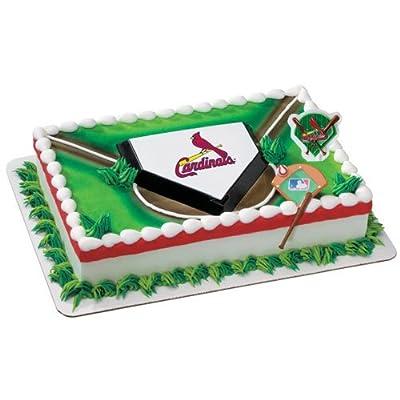 Amazon.com : St. Louis Cardinals Cake Decorating Kit : Baseball And
