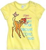 Tee Shirt Bebé niña manga corta Bambi amarillo de 3a 24Meses amarillo amarillo Talla:6 meses