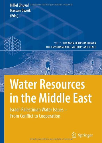 Water Resources in the Middle East: Israel-Palestinian Water Issues  From Conflict to Cooperation