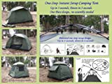 Genji Sports One-Piece Instant Setup Family Camping Tent