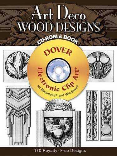 Art Deco Wood Designs (Dover Electronic Clip Art)