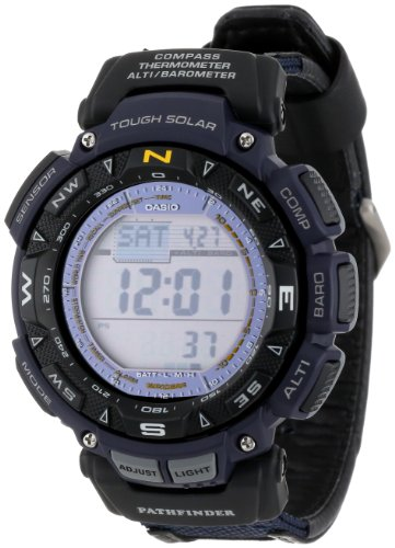 Casio Men's PAG240B-2CR Pathfinder Triple Sensor Multi-Function Sport Watch