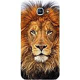 For Samsung Galaxy A8 (2016) Dangerous Lion ( Dangerous Lion, Lion, Cute Lion, Brown Lion ) Printed Designer Back Case Cover By FashionCops