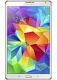 Samsung Galaxy Tab S 8.4-inch Tablet (White) - (ARM Exynos 5 Octa-Core 1.9GHz, 3GB RAM, 16GB Storage, Wi-Fi, Android 4.4)