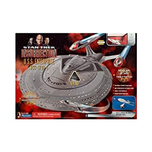 Star Trek Insurrection Enterprise E StarShip with Working Lights and Sounds