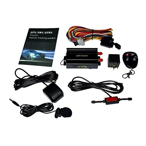 RedSun New GPS/SMS/GPRS Tracker TK103B Vehicle Tracking System With Remote Control (Truck Gps Tracking System compare prices)