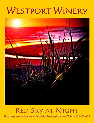 "Nv Westport Winery ""Red Sky At Night"" Chocolate & Raspberry (Benefits The Westport Timberland Library) 750 Ml"