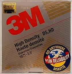 3m High Density DS.HD 10-3.5 Computer Disk