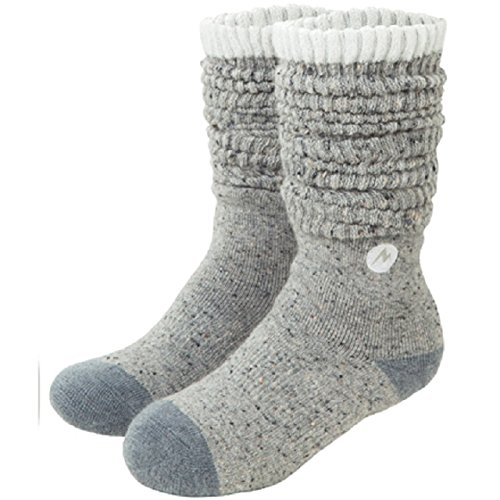 マーモット(Marmot) ウィメンズ Wool Knee High Socks MJA-S6386W GRY グレー 22-24cm