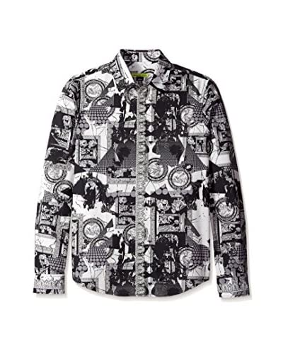 Versace Jeans Men's Allover Print Shirt