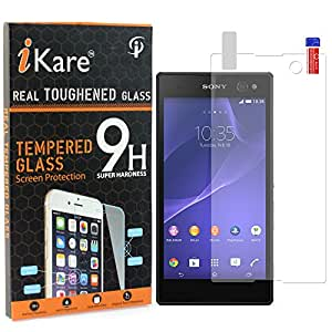 Xperia C5 Ultra Dual Tempered Glass, iKare 2.5D 9H Tempered Screen Protector for Sony Xperia C5 Ultra Dual