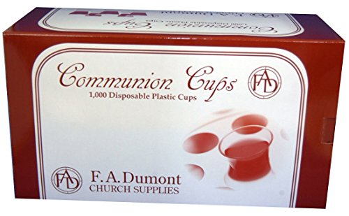 Disposable Communion Cups - Box of 1000 - NEW (Communion Supplies compare prices)