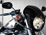 Headlight Fairing Custom Black Cafe Visor Bracket For Harley Davidson Sportster