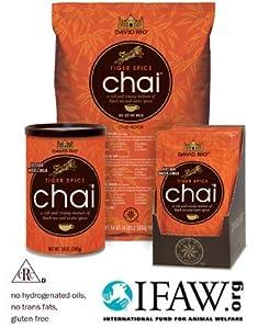 David Rio Tiger Spice Chai Tea, 4lb. Bag by David Rio