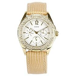 GUESS Analog White Dial Womens Watch - W16574L1