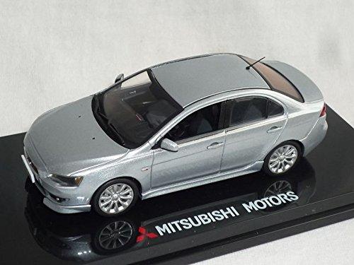 mitsubishi-lancer-limousine-silber-mit-frontlippe-ab-2007-8-generation-cyo-1-43-vitesse-modell-auto-