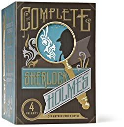 The Complete Sherlock Holmes: A Study in Scarlet, The Sign of Four, The Hound of the Baskervilles, The Valley of Fear, His Last Bow, Adventures of ... of Sherlock Holmes (The Heirloom Collection)