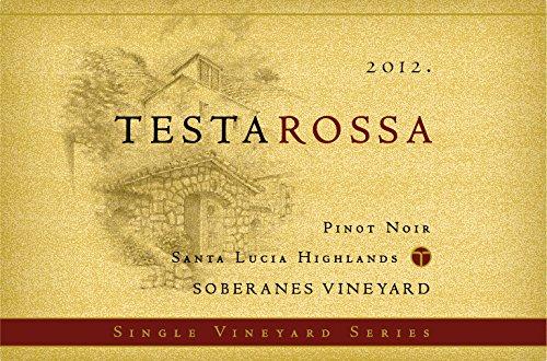 2012 Testarossa Soberanes Vineyard Pinot Noir
