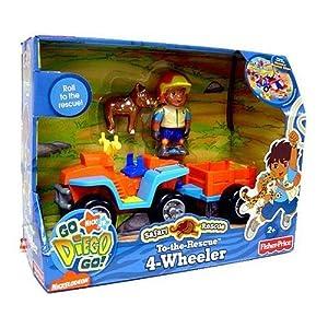 Fisher price jeux de construction go diego vehicules safari 4x4 jeux et jouets - Jeux de go diego ...