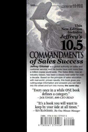 Jeffrey Gitomer's Sales Bibles: The Ultimate Sales Resource