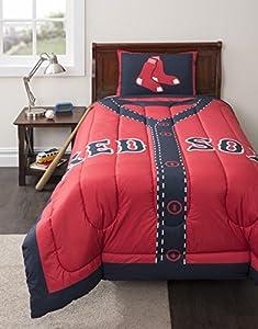 MLB Boston Red Sox Twin Comforter Set