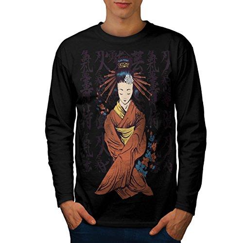 beautiful-east-woman-japan-art-men-new-black-m-long-sleeve-t-shirt-wellcoda