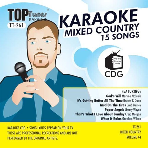 Top Tunes Karaoke TT-261 Country: Gretchen Wilson, Craig Morgan & Martina McBride