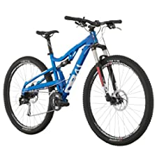 Diamondback Bicycles 2014 Recoil Comp Full Suspension Mountain Bike (29-Inch Wheels), 18-Inch, Blue