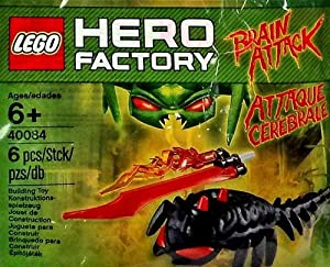 LEGO Hero Factory Set #40084 Brain Attack [Bagged] by LEGO [Toy]