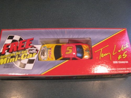 Special Kellogg's Cereal Promotional Offer Car Terry Labonte #5 Kellogg's Honey Crunch Cornflakes 1/64 Scale Car Commemorating Terry's 1996 Championship