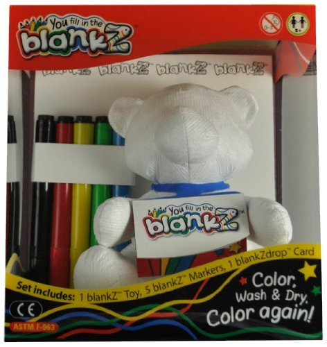 The BlankZ Bear - Bare White by the blankZ