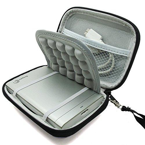 """Marktore(TM) Stoßsichere schwarze Schutzhülle/Tasche / Festplattentasche für 2.5"""" Toshiba Canvio Basics/Seagateup Plus External/Transcend/Samsung M3 Hard Drive HDD tragbare, externe Festplatte 750GB 1TB 2TB"""