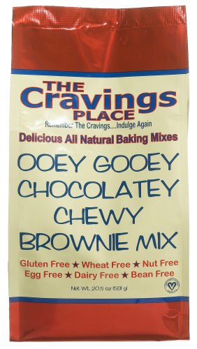 Buy The Cravings Place Ooey Gooey Chocolatey Chewy Brownie Mix, 20.5-Ounce Bag (Pack of 6) (The Cravings Place, Health & Personal Care, Products, Food & Snacks, Baking Supplies, Baking Mixes, Brownie Mixes)