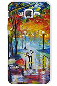 IndiaRangDe Hard Back Cover FOR Samsung Galaxy J7 SM-J700H