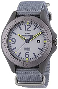 Timex Herren-Armbanduhr XL Expedition Analog Quarz Nylon T499314E