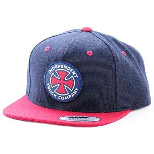 cappellino-independent-itc-cross-2-blu-rosso-formato-osfa-formato-misura-qualsiasi