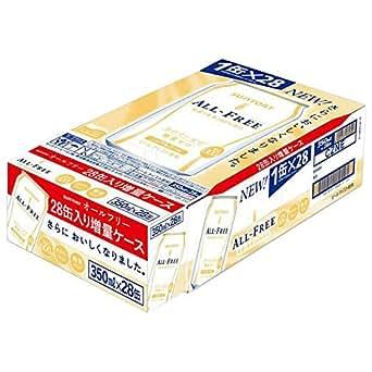 [2CS]サントリー オールフリー 350ml×24本 +4本おまけ増量パック2ケース
