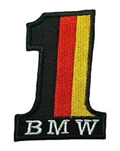 BMW No.1 German Motorcycles Vintage Bikes Racing Motorsport T Shirt BB10 Embroidered Patches by Think4u Store