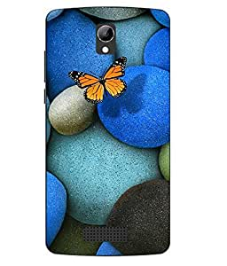 Case Cover Abstract Printed Colorful Soft Back Cover For LYF WIND 3
