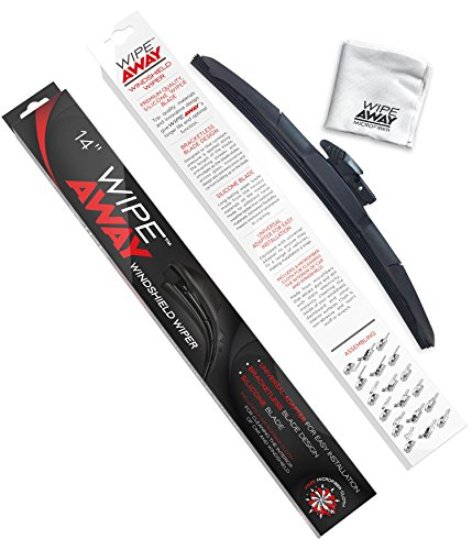 Wipe Away Windshield Wiper Blade - Silicone Windshield Wiper Blade - 14
