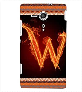 PrintDhaba GRANDbet W D-2551 Back Case Cover for SONY XPERIA SP (Multi-Coloured)