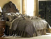 Big Sale Michael Amini Charisma 13 pc King Comforter Set in Amethyst by AICO