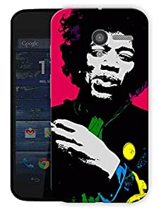 """Jimi Hendrix Colors In Life Printed Designer Mobile Back Cover For """"Motorola Moto X"""" By Humor Gang (3D, Matte Finish, Premium Quality, Protective Snap On Slim Hard Phone Case, Multi Color)"""
