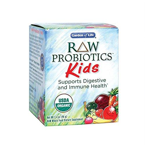 Garden of Life Raw Organic Probiotic Kids 96g Powder (Probiotic Organic compare prices)