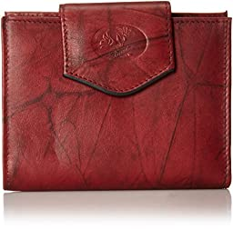 Buxton Heiress Cardex Wallet, Burgundy, One Size