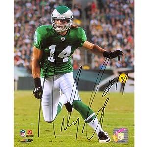 Riley Cooper Autographed Philadelphia Eagles (Throwback) 8x10 Photo by PalmBeachAutographs.com