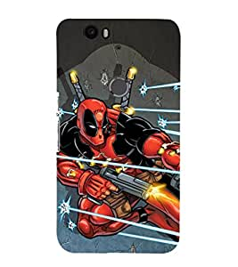 EPICCASE Superhero in Action Mobile Back Case Cover For Huawei Nexus 6P (Designer Case)