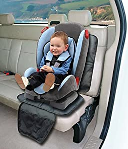 ELBONTEK Infant Car Seat Protector Cover Mat For Under Baby Seats Promo