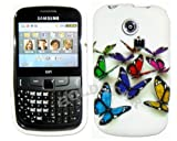 Goldstar New Multicolour Butterfly Flowers Silicone Gel Case Cover For Samsung Ch@t335 Chat S3350
